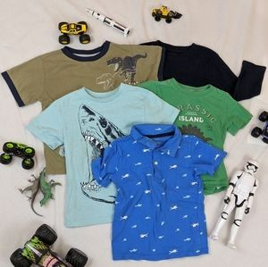 Bundle of 5 Tee Shirts, Size 4T